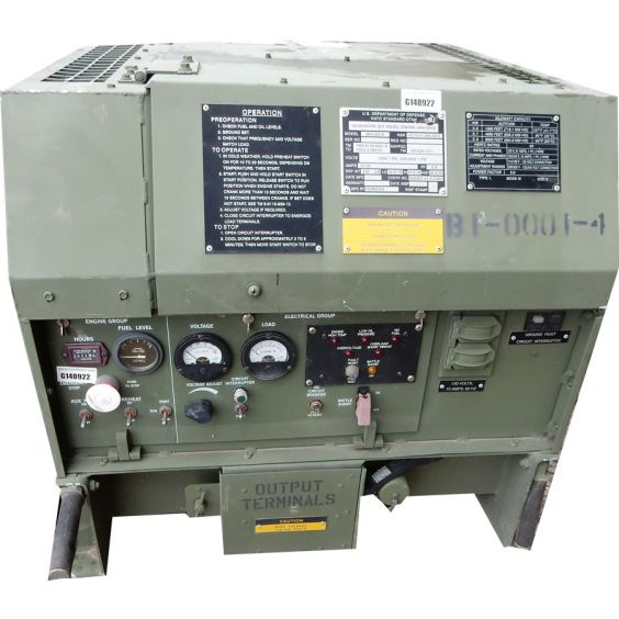 U S G I 3kw Diesel Generator Mep 831a
