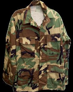 U.S. G.I. Hot Weather Field Shirt, Woodland, Unused