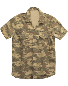 Turkish Military Short Sleeve Field Shirt, Used