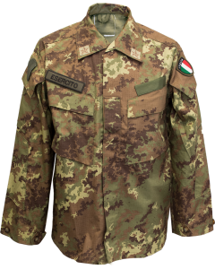 Italian Military Vegetato Ripstop BDU Shirt