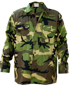 German Military Woodland BDU Shirt