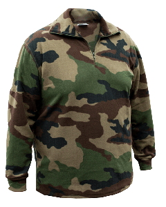 French Military Super Soft Fleece Pullover