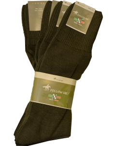 Italian Military Wool Socks, 4 Pack