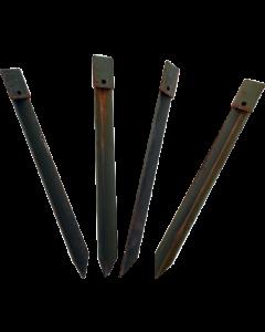 U.S. G.I. Heavy Duty Steel Stakes, 4 Pack