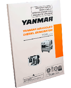 Yanmar YDG Series Diesel Generator Technical Manual
