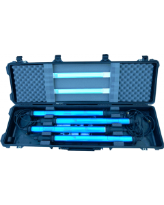 U.S. G.I. EMI Hardened Fluorescent Light Kit with Transport Case