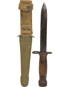 Italian Military M4 Bayonet for the M1 Carbine