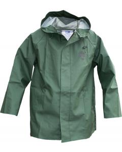 Heavy Duty Fire Retardant PVC Waterproof Rain Coat