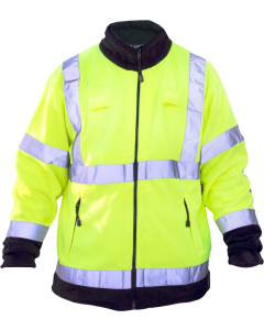 British Police High Visibility Fleece Jacket