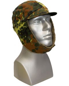 German Military Flecktarn Winter Hat