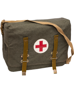 Vintage Russian Military First Aid Satchel