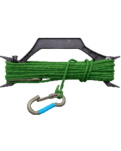 U.S. G.I. Rope and Carabiner set with Stay Winder