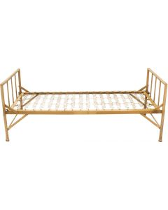 French Military Metal Bed, Single Bed
