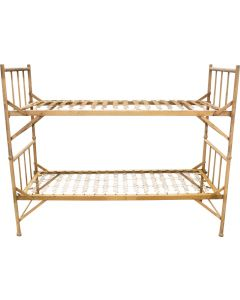 French Military Metal Bed, Bunk Set