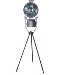 Vintage Swiss Military Kerosene Floodlight Projector