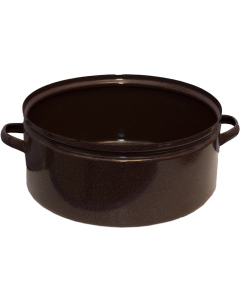 Czech Military Enamelware Cooking Pot