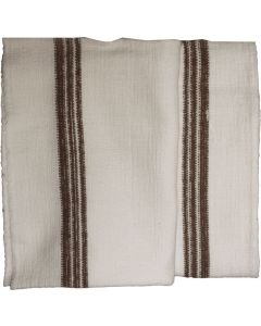 Hungarian Military Natural Cotton Hand Towels, 4 Pack