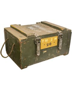 French Military Tent Supply Box