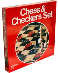 U.S. G.I. Chess and Checkers Set