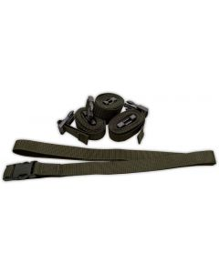 Dutch Military General Purpose Adjustable Utility Strap, 6 Pack