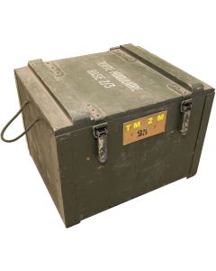 French Military Tent Transport Box
