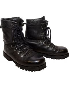 German Military Leather Infantry Boots