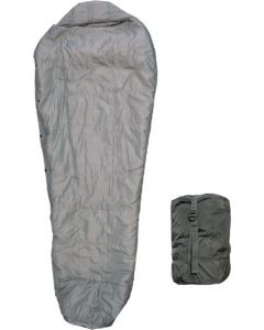 U.S. G.I. Improved Intermediate Sleeping Bag, Urban Gray, with Compression Sack