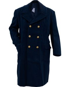 Italian Air Force Long Wool Overcoat