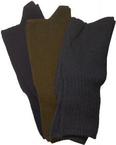 Italian Military Crewman Socks, 3 Pair Pack