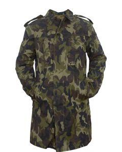 Romanian Military Leaf Camo Parka