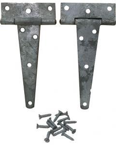 U.S. G.I. 6'' Steel Tee Hinge, 5 pack