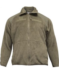U.S. G.I. ECWS Gen III Fleece Jacket, Coyote, Used