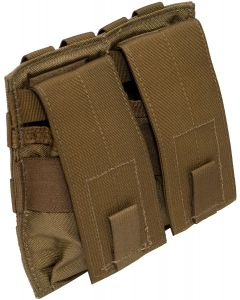 U.S. G.I. MOLLE Double Universal Rifle Mag Pouch, Coyote