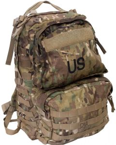 U.S. G.I. MOLLE II Medium Rucksack with Frame, OCP Camo