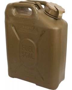 U.S. G.I. Scepter 5 Gallon Fuel Can, Tan