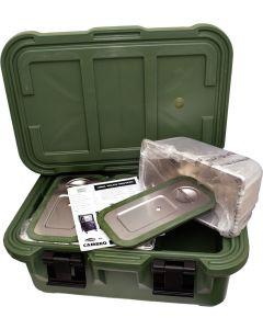 U.S. G.I. Top-Loading Food Pan Carrier, Unused