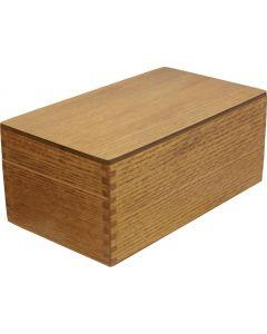 U.S. G.I. Wooden Index Card Filing Box