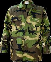 German Military Woodland BDU Shirt