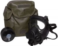 NATO Military MP5 Gas Mask with Filter and Carry Bag