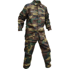 Italian Military 2 Piece BDU Set, Woodland