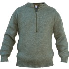 Swiss Military Half Zip Virgin Wool Sweater