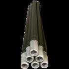 Pole, 4 ft. Aluminum, Used, 6 poles