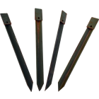 U.S. G.I. Heavy Duty Steel Stakes, 4 Pack