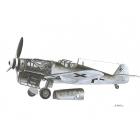 WWII Airplane Prints, set of 6 prints