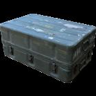 U.S. G.I. Aluminum Transport Chest, Over-sized Medium, Used