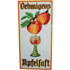 Vintage German Apple Wine Sign