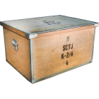 Swedish Military Civil Defense Storage Box