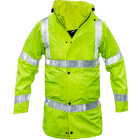 British Police High-Visibility Waterproof Parka