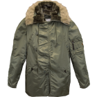 U.S. G.I. Extreme Cold Weather Parka, N-3B, Alpha Industries