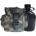U.S. G.I. MOLLE II Canteen and Cover Combo, ACU Digital